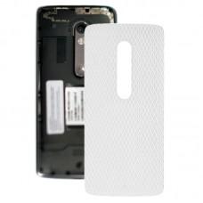 Battery Back Cover for Motorola Moto X Play XT1561 XT1562(White)