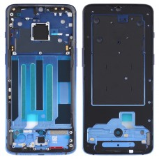 Original Middle Frame Bezel Plate for OnePlus 7 (Blue)