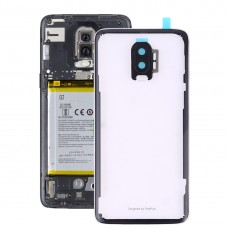 Battery Back Cover with Camera Lens for OnePlus 6T(Transparent)