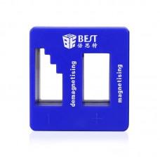 herramienta de reparaci/ón port/átil de 110V-220V que incluye un juego de br/újula para desmagnetizar piezas m/óviles del reloj EU Plug Herramientas de desmagnetizador el/éctrico tornillos