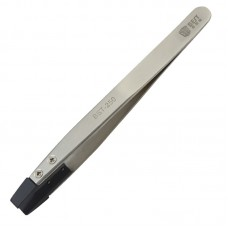 BEST BST-250  Stainless Steel Snti Static Medical Tweezer