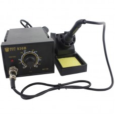 BEST BST-936B AC 220V Thermostatic Soldering Station Anti-static Electric Iron, China Plug(Black)