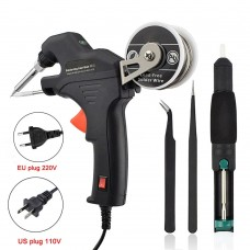 60W Electric Soldering Iron Kit Internal Heating Handheld Automatically Send Tin Welding Station Repair Tool