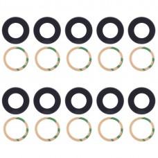 10 PCS Back Camera Lens Cover & Adhesive for Xiaomi Mi 6