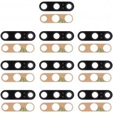 10 PCS Back Camera Lens & Adhesive for Xiaomi Mi 9 SE(Black)