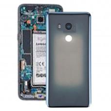 Battery Back Cover with Camera Lens for HTC U11+(Transparent Black)