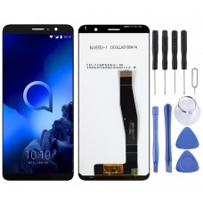 LCD Screen and Digitizer Full Assembly for Alcatel 1x (2019) 5008 (Black)