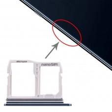 SIM Card Tray + Micro SD Card Tray for LG V40 ThinQ (Blue)