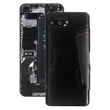 Back Cover for Asus ROG Phone II ZS660KL I001D I001DA I001DE (Black)