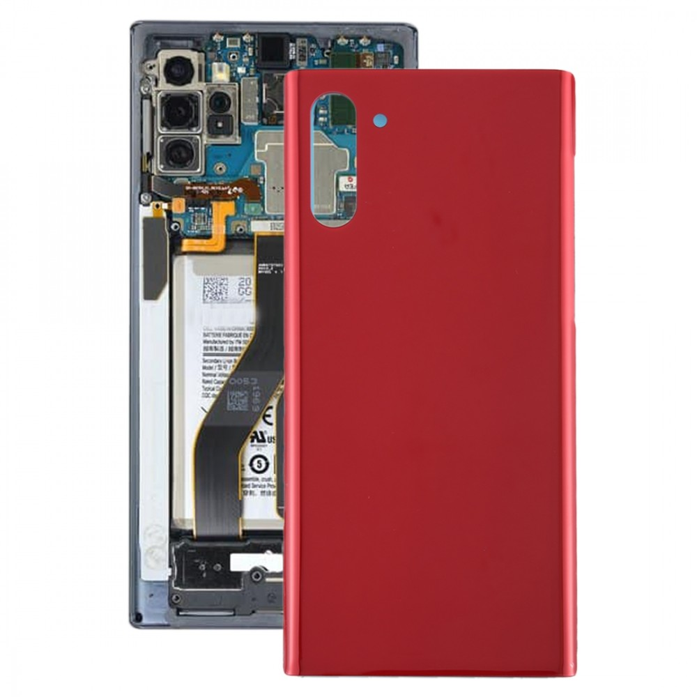Battery Back Cover for Galaxy Note 10(Red)