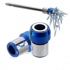 Full Metal Screwdriver Head Plus Magnet(Red)