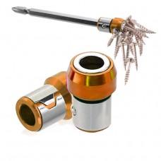 Full Metal Screwdriver Head Plus Magnet(Orange)