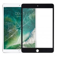 Front Screen Outer Glass Lens for iPad Mini 5 A2124 A2126 A2133 (Black)