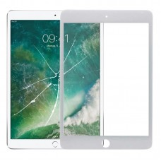 Front Screen Outer Glass Lens for iPad Mini 5 A2124 A2126 A2133 (White)