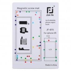 JIAFA JF-870 Magnetic Pad Screw Board for iPhone XR