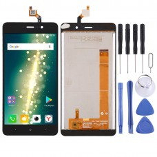 LCD Screen and Digitizer Full Assembly for BQ BQ-5591 Jeans(Black)