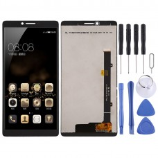 LCD Screen and Digitizer Full Assembly for Coolpad C3705(Black)