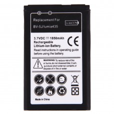 For Microsoft Lumia 435 / BV-5J 1850mAh Rechargeable Li-ion Battery