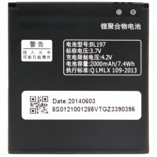BL197 Rechargeable Li-Polymer Battery for Lenovo A798t / A800 / S720