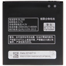 BL209 Rechargeable Li-Polymer Battery for Lenovo A706 / A820e / A760