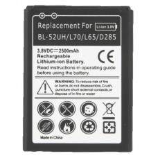 2500mAh Replacement Mobile Phone Battery for LG L70 / L65 / D285