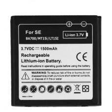 1500mAh Mobile Phone Battery for Sony Ericsson BA700 / MT15i / Xperia Neo(Black)