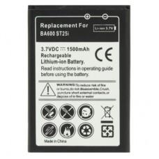 1500mAh Battery for Sony ST25i / Xperia U / BA600