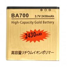 2430mAh High Capacity Gold Business Battery for Sony Ericsson MT15i Xperia Neo/ MK16i