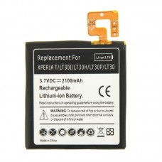 2100mAh Rechargeable Replacement Li-ion Battery for Sony Xperia T / LT30i / LT30p / LT30H / LT30