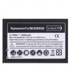 1600mAh Replacement Battery for Blackberry Curve 9220 / 9320