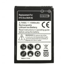 Mobile Phone Battery for HTC EVO Shift 4G / S521 / T8388 / A8188(Black)