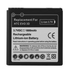 1800mAh Mobile Phone Battery for HTC EVO 3D / Sensation XL / G14 / X515m / G17 Sensation XE Z715e / G18(Black)