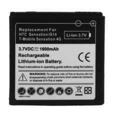 1600mAh Mobile Phone Battery for HTC G17/EVO 3D/G 14(Black)