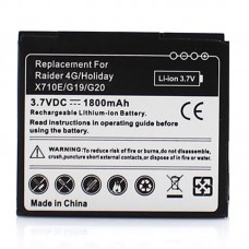 Mobile Phone Battery for HTC Raider 4G, Holiday X710E, G19 / G20(Black)
