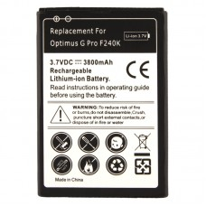 3800mAh Replacement Battery for LG Optimus G Pro F240K