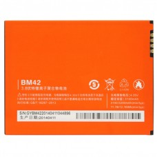 3100mAh High Capacity Replacement Battery for Redmi Note(Orange)