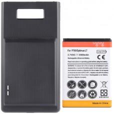 3500mAh Mobile Phone Battery & Cover Back Door for LG Optimus L7 / P705(Black)