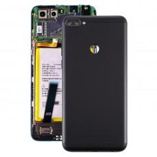 Battery Back Cover for Lenovo K5 Note(Black)