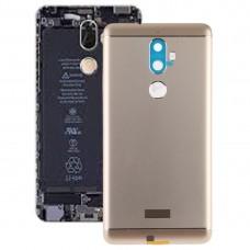 Battery Back Cover for Lenovo K8 Plus(Gold)