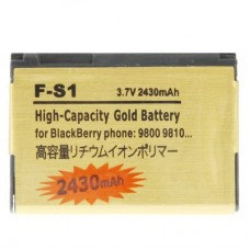 2430mAh F-S1 High Capacity Golden Edition Business Battery for BlackBerry 9800 / 9810