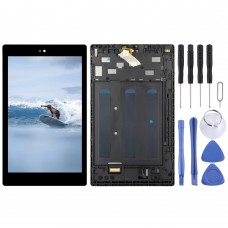 LCD Screen and Digitizer Full Assembly With Frame for Amazon Fire HD 8 2017 (7th Gen) SX034QT (Black)