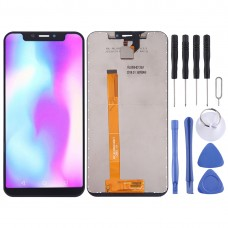 LCD Screen and Digitizer Full Assembly for Leagoo S9(Black)