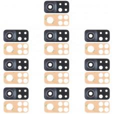 10 PCS Back Camera Lens for Xiaomi Mi 10T 5G / Redmi K30S / M2007J3SC, M2007J3SY