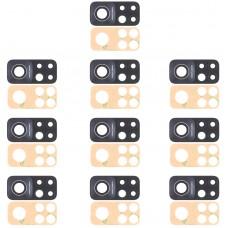 10 PCS Back Camera Lens for Xiaomi Mi 10T Pro 5G (108MP) M2007J3SG M2007J3SP M2007J3SI M2007J17C