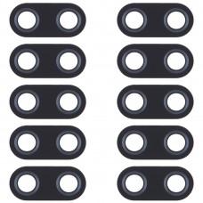 10 PCS Back Camera Lens for Asus Zenfone 5 ZE620KL / ZS620KL (Black)