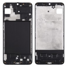 Front Housing LCD Frame Bezel Plate for Samsung Galaxy A70s (Black)