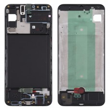 Front Housing LCD Frame Bezel Plate for Samsung Galaxy A30s (Black)