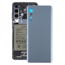 Battery Back Cover for LG Velvet LMG910EMW LM-G910EMW / Velvet 5G LM-G900N LM-G900EM(Black)