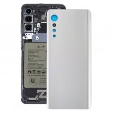 Battery Back Cover for LG Velvet LMG910EMW LM-G910EMW / Velvet 5G LM-G900N LM-G900EM(Silver)