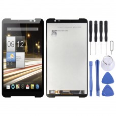 LCD Screen and Digitizer Full Assembly for Acer Iconia Parlare S A1 724 A1-724(Black)